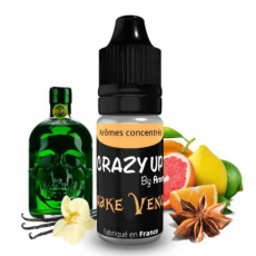 Snake Venom 10 ml - Arôme concentré Crazy Up - Aromea
