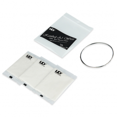 Pack fil résistif Kanthal A1 28 AWG 0,30 mm + 3 pads de coton Bio Japonnais Fil résistif Fil non résistif / Fibre et Coton