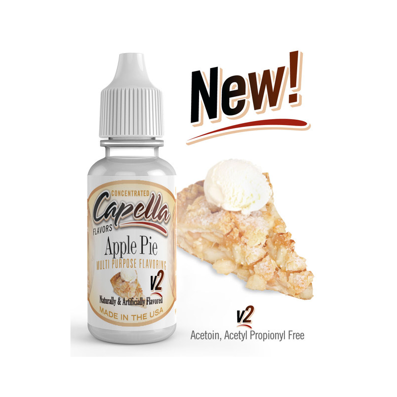 Arôme concentré Apple Pie v2 Capella Flavor 13ml  Arômes Capella Flavors Concentrated