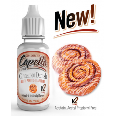 Arôme concentré Cinnamon Danish Swirl Capella Flavor 13ml  Arômes Capella Flavors Concentrated