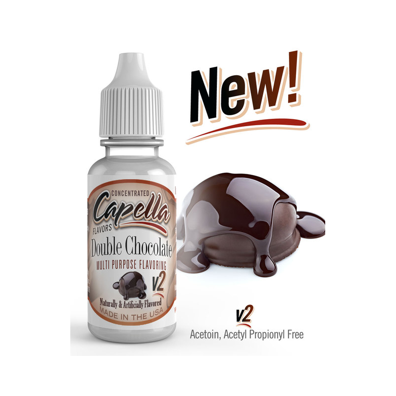 Arome Double Chocolate v2 Capella Flavor 13ml