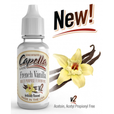 Arôme concentré French Vanilla v2 Capella Flavor 13ml  Arômes Capella Flavors Concentrated