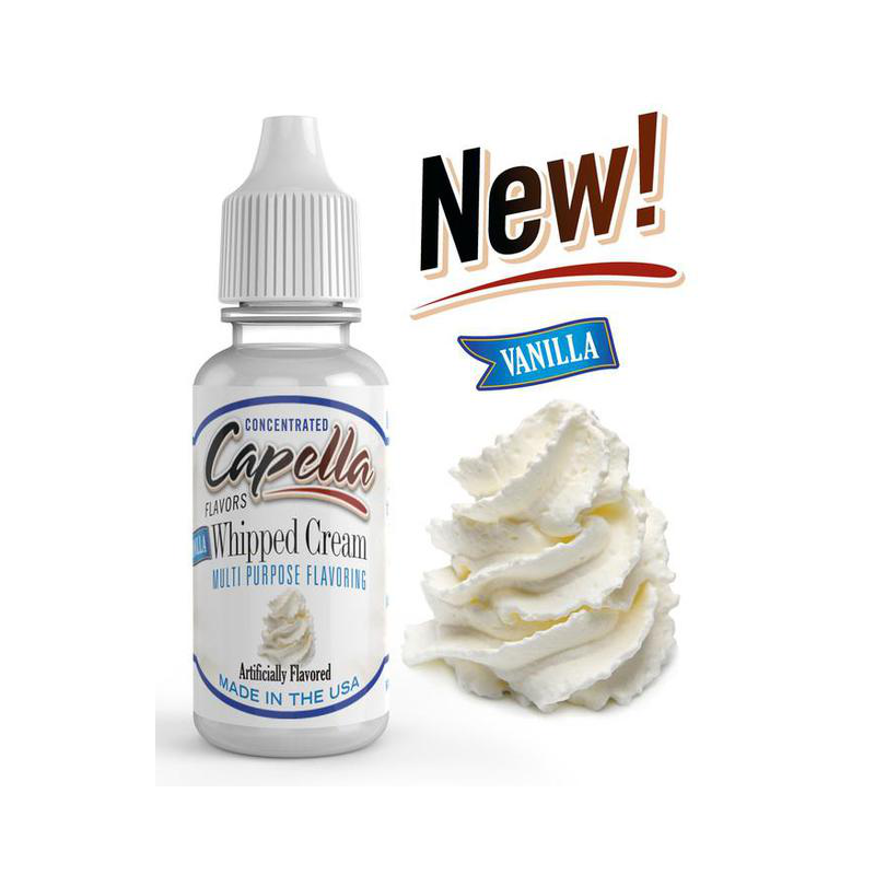 Arôme Vanilla Whipped Cream Capella Flavor 13ml