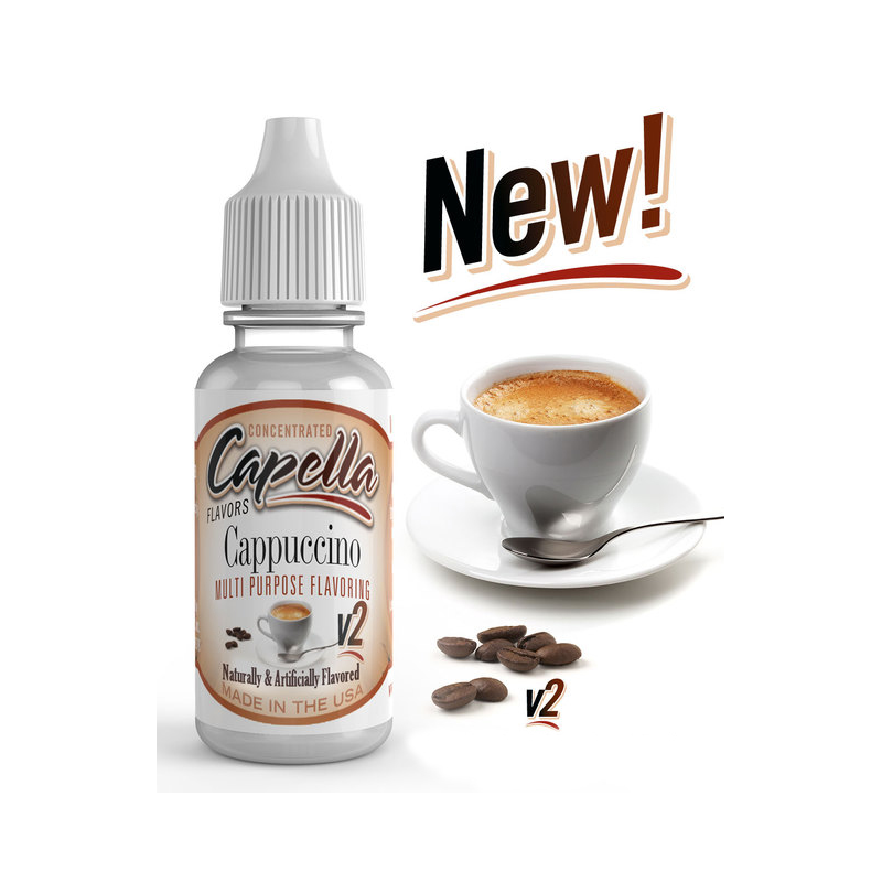 Arôme Cappuccino v2 Capella Flavor 13ml
