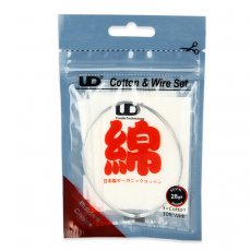 Pack fil INOX SS316L + 3 pads de coton Bio Japonnais Muji Fil résistif Fil non résistif / Fibre et Coton