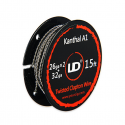 Twisted Clapton Wire Kanthal A1- 26GA X2  + 32GA - Youde (UD)