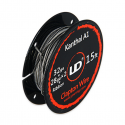 Clapton Wire Kanthal A1- 32GA + 28GA X2 + Ribbon - Youde (UD)