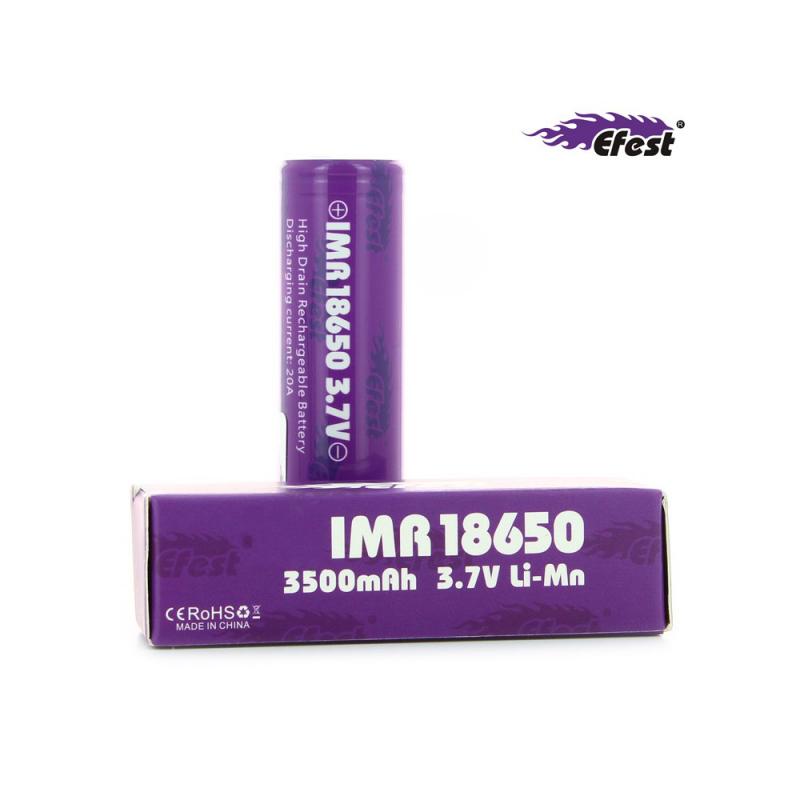 Accu IMR 20A 18650 3500 mAh Efest Purple