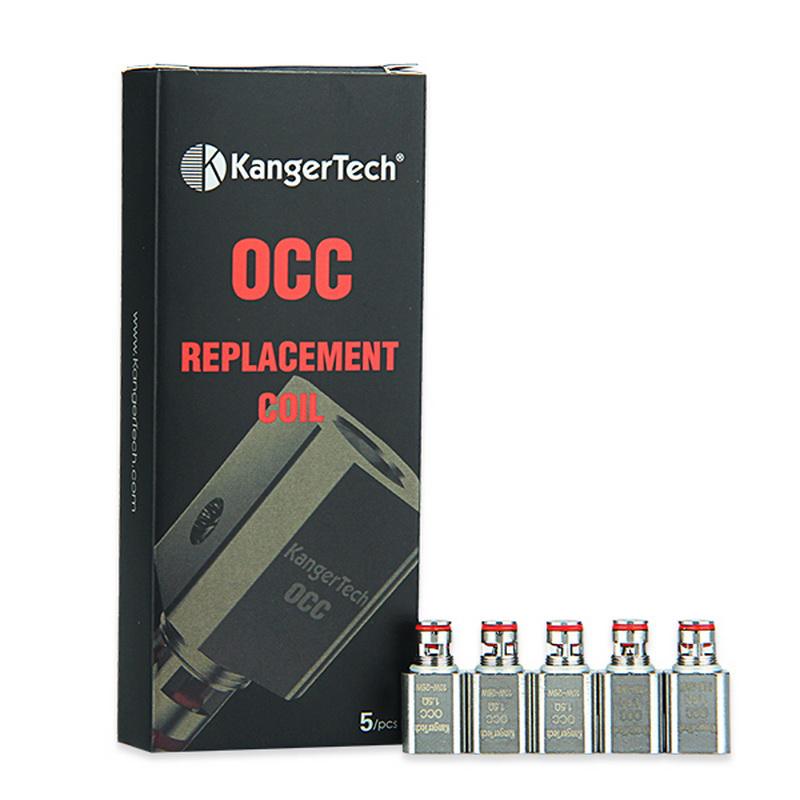 Lot de 5 Résistances de remplacement OCC V2 Subtank Kangertech