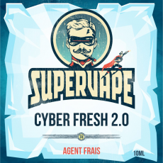 Additif Cyber Fresh 2.0 Supervape Additifs pour la fabrication DIY d'e-liquides