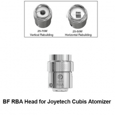 Tête RBA Cubis BF - Joyetech Résistance Joyetech