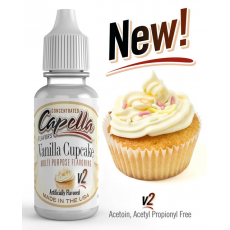 Arôme concentré Vanilla Cupcake Capella Flavor 10ml  Arômes Capella Flavors Concentrated