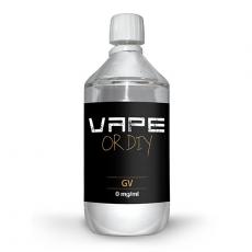 Base E-liquide 0 mg/ml Revolute 0 % PG 100 % VG 1 Litre