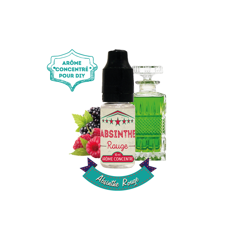 Absinthe rouge - Authentic Cirkus - 10ml - par VDLV