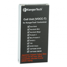 Résistances (x5) VOCC-T - Kangertech Résistance Kangertech10,25€