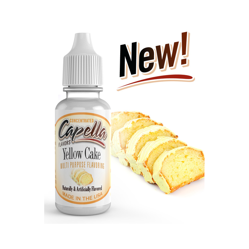 Arôme Yellow Cake Capella Flavor 13ml