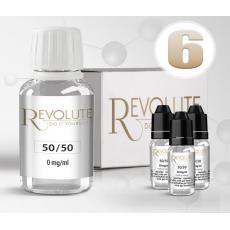 Pack E-Liquide DIY 100 ml 6 mg/ml 50/50 - REVOLUTE Bases pour faire son e-liquide de cigarette électronique