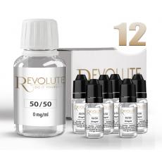 Pack E-Liquide DIY 100 ml 12 mg/ml 50/50 REVOLUTE Bases pour faire son e-liquide de cigarette électronique