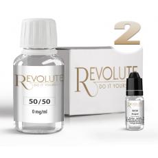 Pack E-Liquide DIY 100 ml 2 mg/ml 50/50 - REVOLUTE Bases pour faire son e-liquide de cigarette électronique