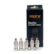 Pack de 5 résistances Aspire Nautilus BVC