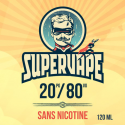 Base E-liquide 0 mg/ml 20 % PG 80 % VG - SUPERVAPE