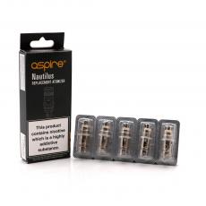 Pack de 5 résistances 1.6 Omh Aspire Nautilus BVC