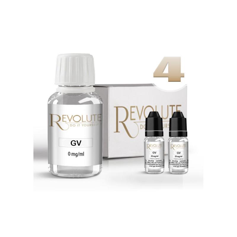 KIT 100 ml  shooters nicotine 4 mg/ml DIY - 100 % VG - REVOLUTE - TPD-READY