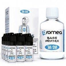 Pack E-Liquide DIY 200ml 12 mg/ml 70/30 - Aromea Bases pour faire son e-liquide de cigarette électronique