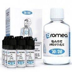 Pack E-Liquide DIY 200ml 9 mg/ml 70/30 - Aromea Bases pour faire son e-liquide de cigarette électronique