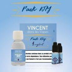 Pack DIY 100 ml 4 mg/ml nicotine - 50 % PG 50 % VG - Vincent dans les Vapes