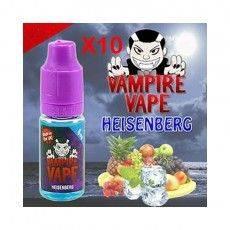E-liquides Heisenberg 10 X 10ml - Vampire Vape Vampire Vape E-Liquide