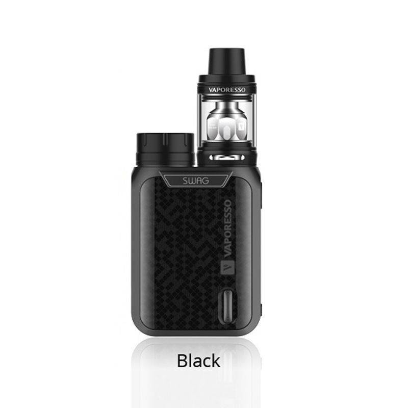 Vaporesso Swag kit 80W avec NRG SE 3.5ml - Couleur : Noir