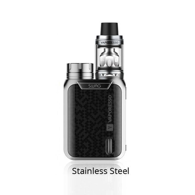 Vaporesso Swag kit 80W avec NRG SE 3.5ml - Couleur : Silver
