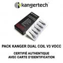 """Résistances VOCC-T """"news"""" - Kangertech - lot de 5"""