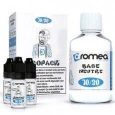 Pack E-Liquide DIY 200ml 3 mg/ml 70/30 - Aromea Bases pour faire son e-liquide de cigarette électronique
