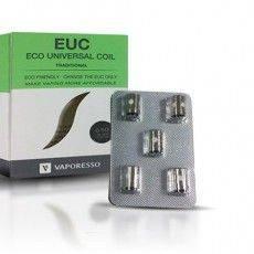 Resistance (x5) EUC Traditional Veco 0.5 Ohm - Vaporesso Resistance Vaporesso