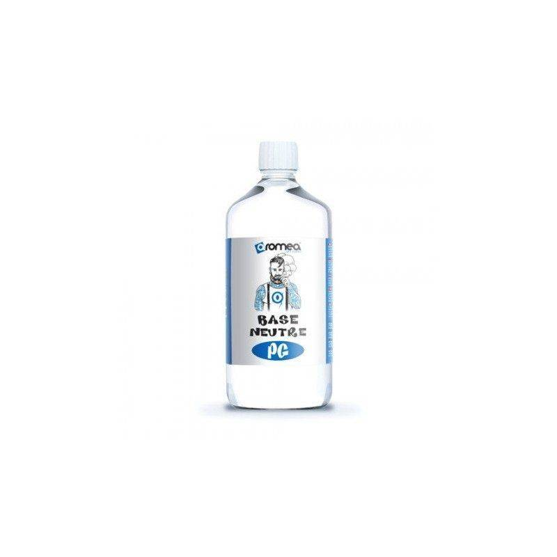 1 Litre de Base E-liquide 0 mg/ml Aromea 100%PG 0% VG