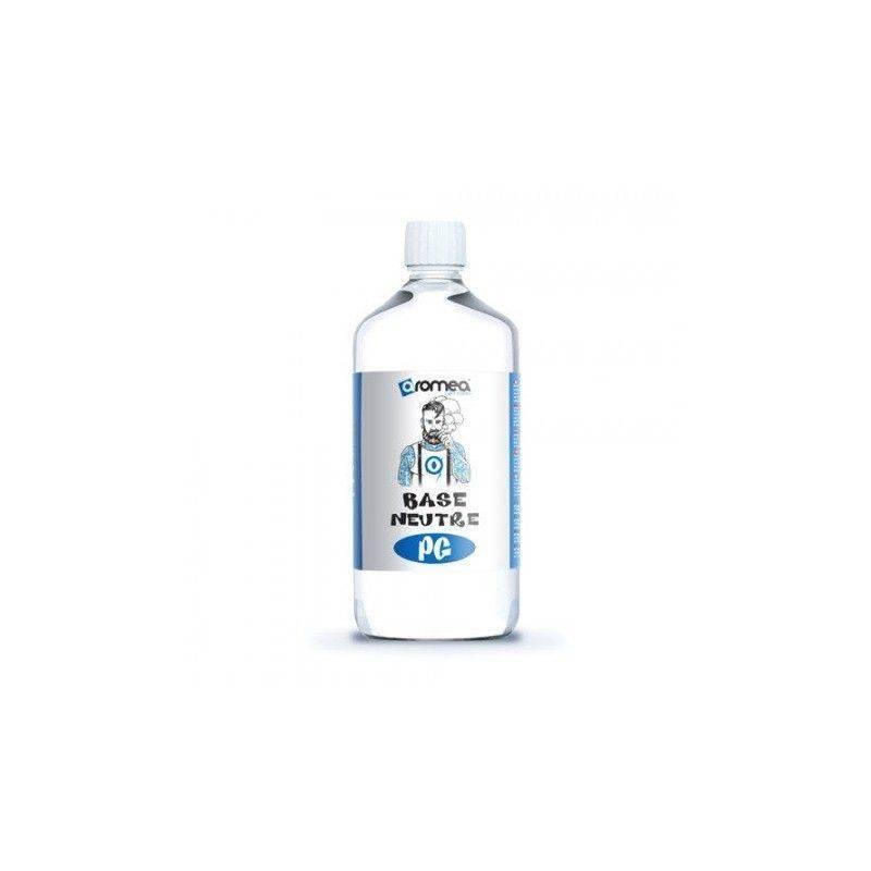 Base E-liquide DIY 1 Litre 0 mg/ml PG - Aromea Bases pour faire son e-liquide de cigarette électronique