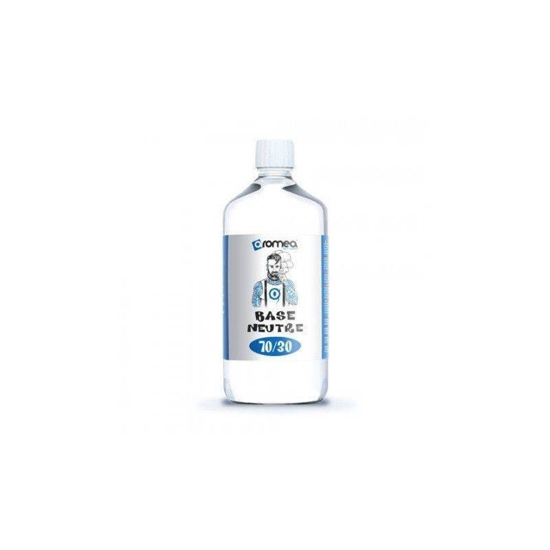 1 Litre de Base E-liquide 0 mg/ml Aromea 70%PG 30% VG