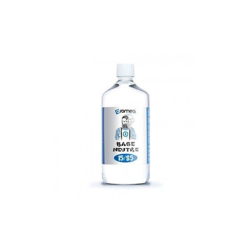 1 Litre de Base E-liquide 0 mg/ml Aromea 15%PG 85% VG 1 Litre