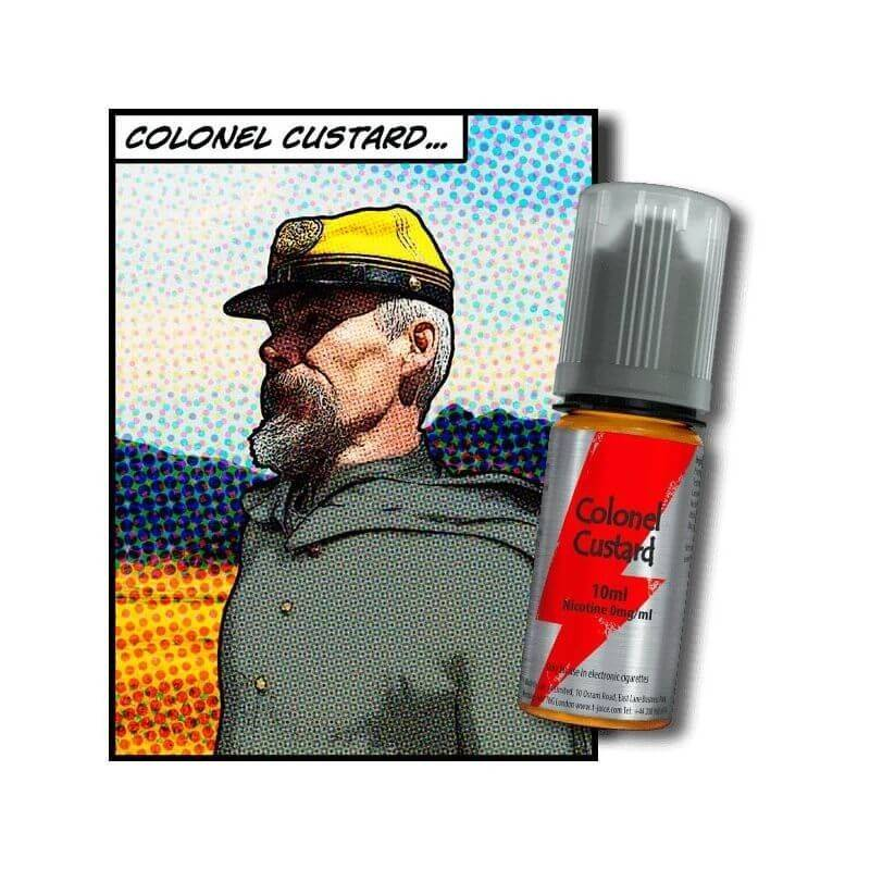 Colonel Custard e-liquide 10 ml T-JUICE