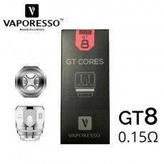 3 résistances VAPORESSO GT8 - 0,15 Ohm pour NRG