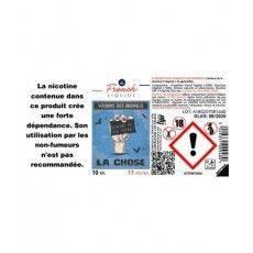 E-Liquide La Chose 30 ml Le French Liquide Le French Liquide E-Liquide