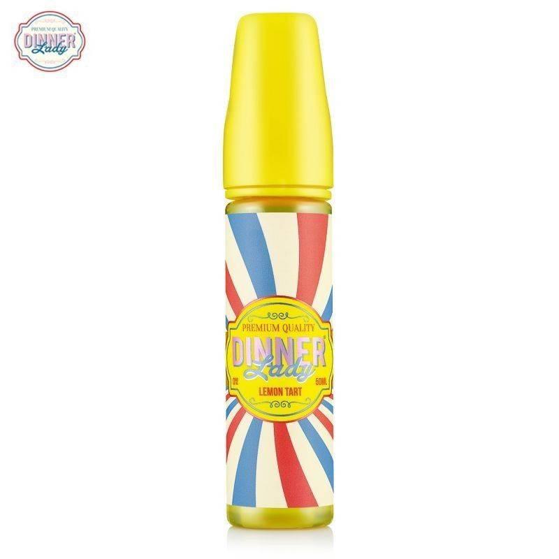 Lemon Tart 50ml  - Dinner Lady -  E-Liquide Shake N Vape