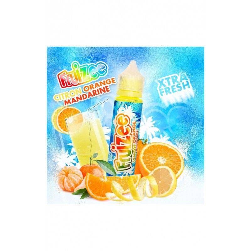 Citron Orange Mandarine 50 ml  Fruizee  - Eliquid France