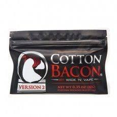 WICK N VAPE COTTON BACON V2 (10g) Fil résistif Fil non résistif / Fibre et Coton4,90€
