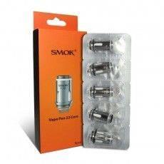 Résistances (x5) Vape Pen 22 0.3ohm - Smoktech Résistance Smoktech