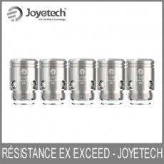 Résistances (x5) EX Exceed 1,2 Ohm - Joyetech Résistance Joyetech9,50€
