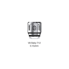 Résistances (x5) V8 Baby T12 0,15 Ohms - Smoktech Résistance Smoktech19,90€
