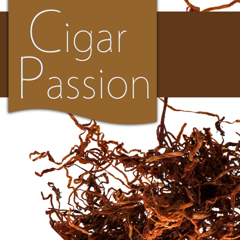 "10 ml - Arôme - Cigare Passion FA (Tobacco flavor ""Cigar passion"")"